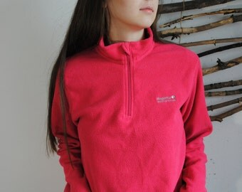Womens vintage fleece pink REGATTA great outdoors