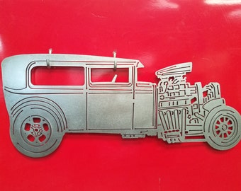 1931 Model A Hot Rod Metal Art