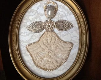 Angel in Oval Frame