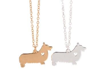 Pembroke Welsh Corgi Dog Necklace