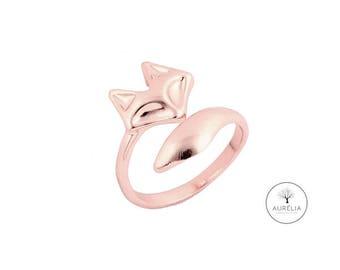 "Gold ring ""Fox"""
