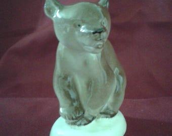 Beutiful Vintage Lomonosov Brown Bear