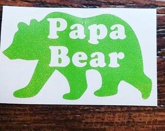 Papa Bear decal