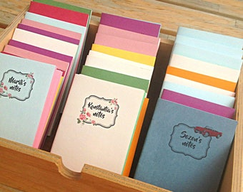 Coloful Handmade notebooks, Personalized notebooks, Vintage Colorful notebooks, lots of colors, Gifts for classmates, Take away gifts