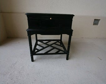 Chinese Chippendale large Side Table