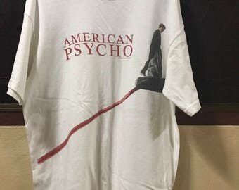 american psycho movie t shirt