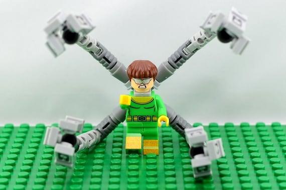Doctor Octopus Custom minifigure Lego Compatible Marvel