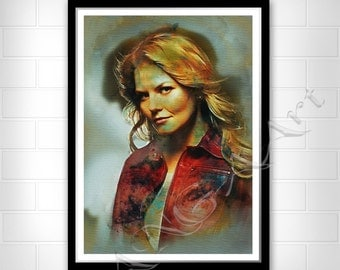 Once Upon a Time Emma Swan Emma Swan poster Instant Download Once upon a time poster Jennifer Morrison poster Once upon a time print
