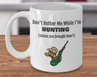 Hunting Mugs Hunting Gifts for Men Mugs for Men Coffee Mug