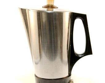 Electric kettle / Russian electric kettle / Stainless steel / Silver kettle / Metal kettle / Coffee maker / Water boiler / USSR kettle
