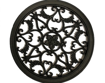 Round Decorative Gate Fence Insert ACW 55
