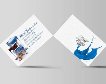 Salon Professional Nail Technician - Business Card