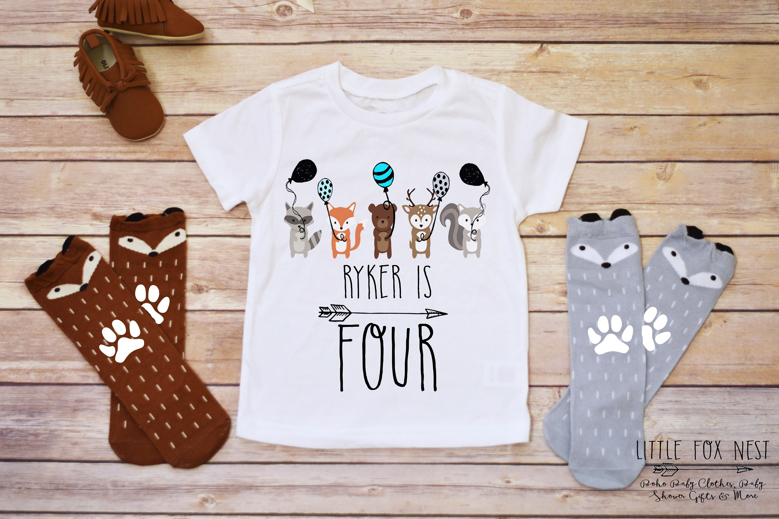 Monogrammed Birthday Shirts For Toddlers