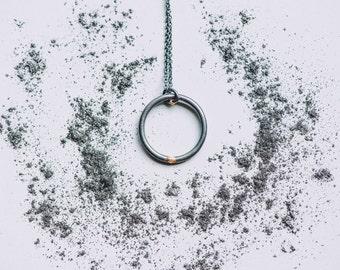 Round collar, Gilles collection / / unisex - minimalist - geometric jewelry