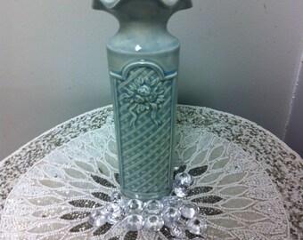 Ceramic Victorian Bud Vase