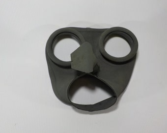 Rare Beach find.Vintage rubber mask. Vintage stuff from ship.Rubber part from gas mask.
