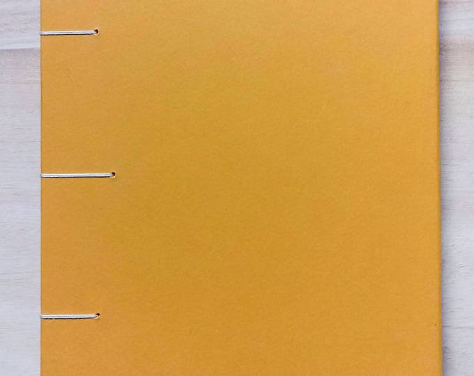 A5 Yellow Notebook