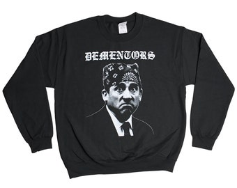 Dementors Prison Mike Sweatshirt - The Office Azkaban Dunder Mifflin Sweater - Mens Womens - Holiday Sweater Pullover Oversize Sweat Shirt