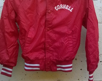 Child's 1980s Collegic Jacket - Cornell University in School colors