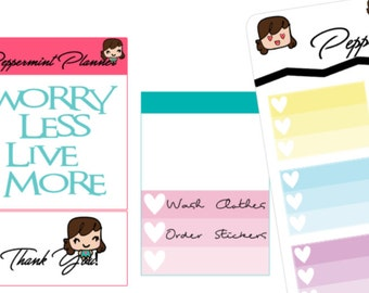 Ombra Check off Boxes Planner Stickers {#215}