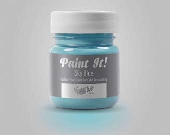 "Painting ""Paint It"" Rainbow Dust - sky blue - 25ml"