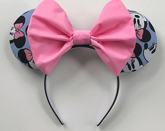 Pretty in Pink Minnie Mouse Ears