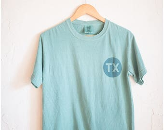 TX || lone star state graphic tee