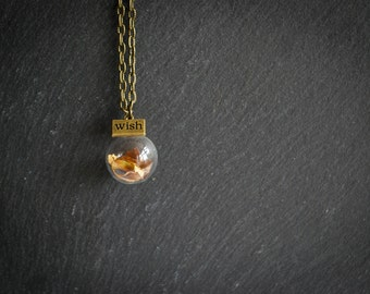 An Autumn Wish Necklace