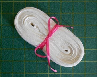White Twill Tape -1 inch herringbone pattern, 15yd piece (4V-1WHT)arts/crafts/lace/trims/general supplies/totes/scrapbooking/etc