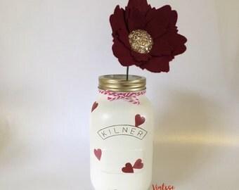 Decorative heart Jar