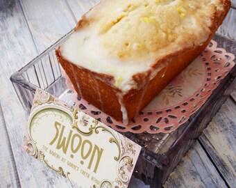 Lavender Lemon Pound Cake ~ 2 Mini Pound Cakes ~ Lavender Pound Cake ~ Lemon Pound Cake ~ Butter Pound Cake  Homemade Pound Cake ~ Poundcake