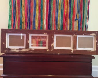 WINDOW PICTURE FRAME - Reclaimed Wood Window