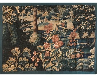 17th Century French Verdure Tapestry