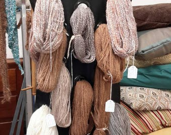 Alpaca yarn, 5-8 ply 100gms