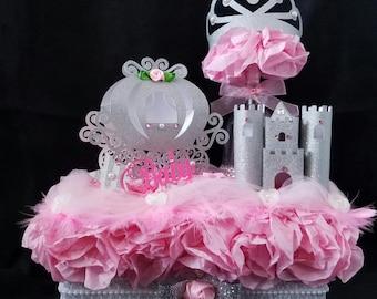 Princess Baby Shower Centerpiece/ Baby Shower/ Baby Girl/ Princess