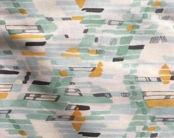 Modern Geometric Cotton Fabric, Geo Fabric, Quilt Cotton, Quilter's Cotton Fabric, Modern Quilt Fabric