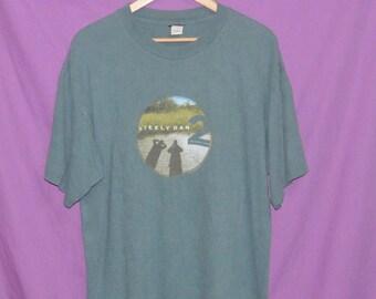 Vintage Steely Dan Us Rock Band Tour Concert T-Shirt
