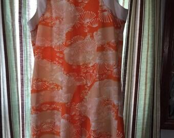 Vintage polyester dress