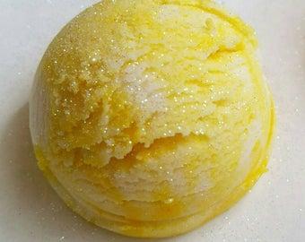 Meyer Lemon Sorbet Bubble Truffles
