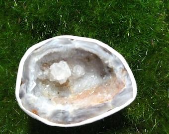 Agate Geode Half C7