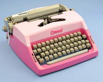 Pink Consul typewriter