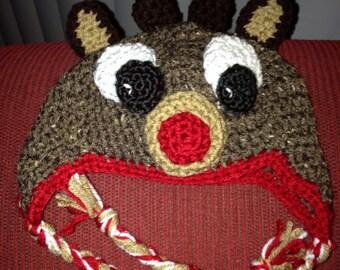 Rudy the Reindeer Hat