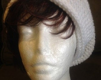 Crocheted SlouchHat, DBC, variety of colors