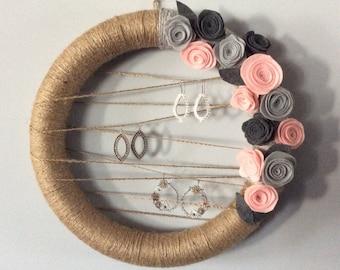 Jewelry Display Wreath