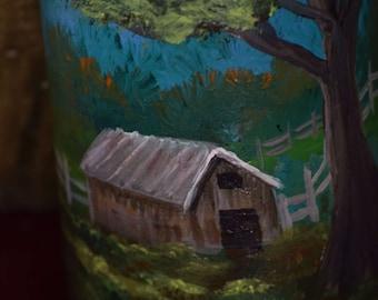 Country Night Light - Night Light - Bottle Lighting