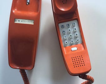 Vintage Trimline Touchtone Telephone  Bell System,  Made By Western Electric