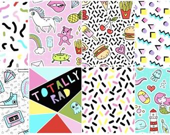 I love the 80s! Full Box Stickers