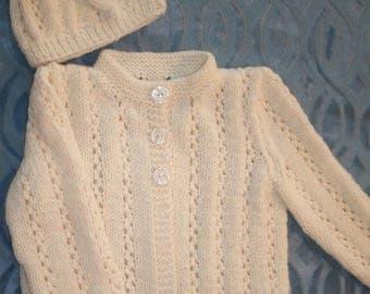 "Baby Sweater Set - ""Fairytale"""