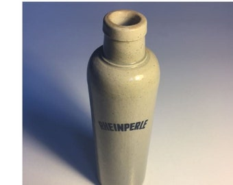 Vintage Rheinperle Wine Stoneware Bottle