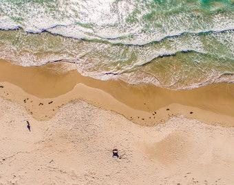 Beach Art, Coastal Art, Beach Photography, Drone Photography, Landscape Photography, Home Decor, Wall Art, Photo Print